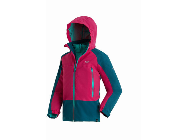 Regatta Hydrate III 3in1 Jacket Kinder moroccan blue/duchess